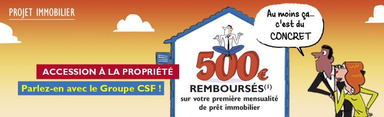Prêt immobilier : nous vous aidons à devenir propriétaires depuis 1955 !